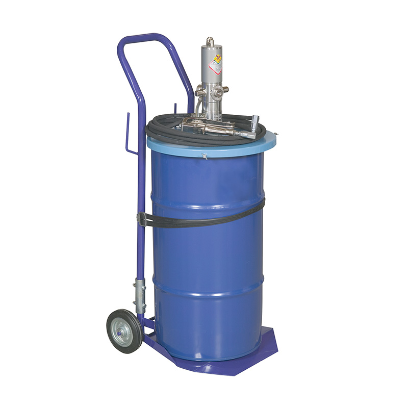 Lubrication trolley Pneumatic 50:1 grease pump 50 kg